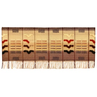 Mid-20th Century Mounted Finnish Textile For Sale