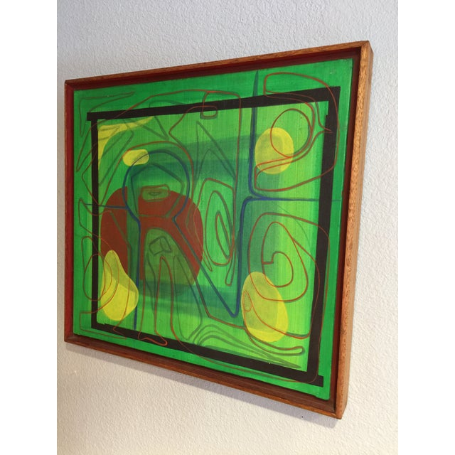 Mid-Century Modern Barbara Blume Abstract Painting - Image 3 of 8