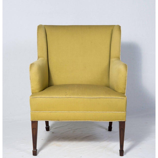 Frits Henningsen Pair of Frits Henningsen Lounge Chairs For Sale - Image 4 of 10