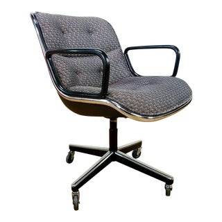 Mid-Century Charles Pollock for Knoll Executive Chair
