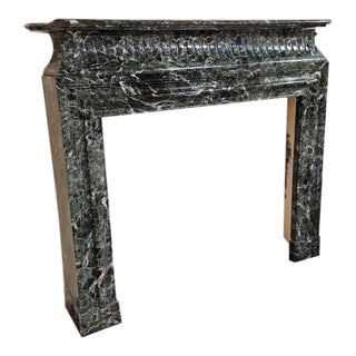 Louis XIV Style Antique Marble Mantel, circa 1850