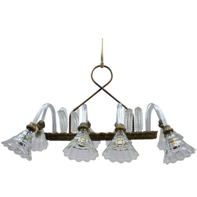 Rectangular Barovier Light For Sale