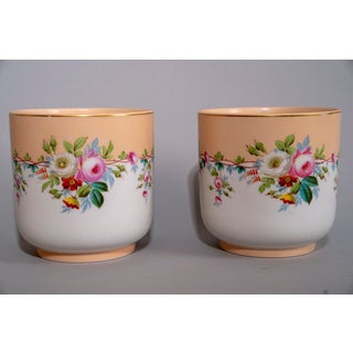 Mid 20th Century French Porcelain Pots - a Pair Preview