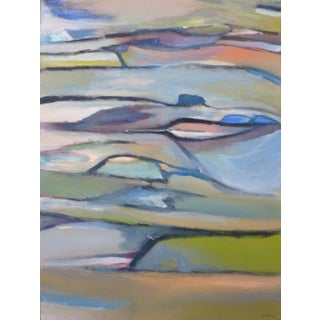 Feather Bay Contemporary Abstract Painting For Sale