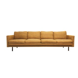 Mid Century Modern Long and Lean 4 Seat Sofa by Workbench