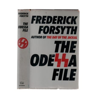 "1972 ""First Edition, the Odessa File"" Collectible Book For Sale"