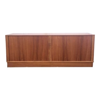 Mid-Century Modern Teak Credenza or Tv Console For Sale