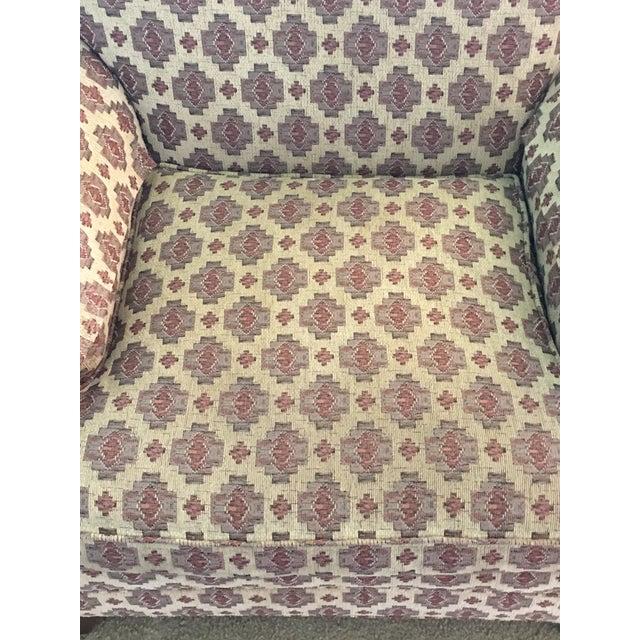 Ethan Allen Kilim Club Chair - Image 7 of 7