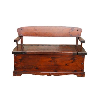 Early American Style Bench by Chimney Mountain Craftsmen Preview