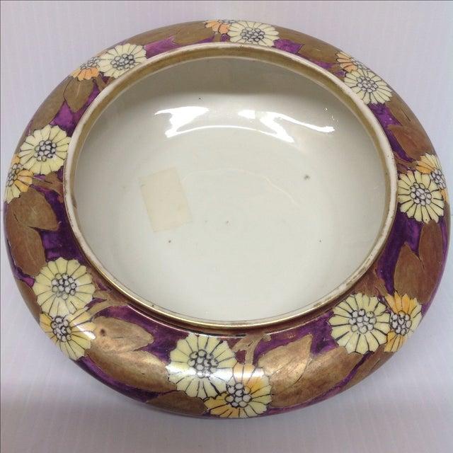 O&E G Royal Austria Iridescent Ceramic Bowl, 1829 - Image 3 of 6