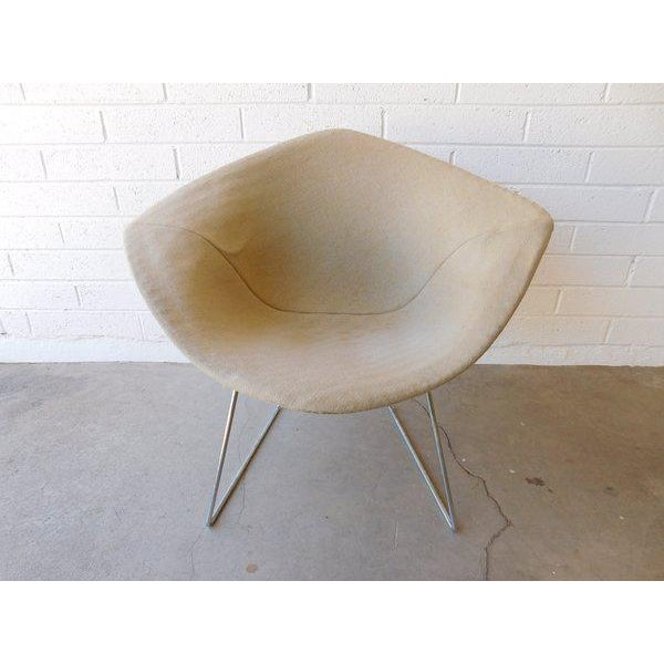 Original Bertoia Diamond Wire Chair in Chrome by Knoll - Image 5 of 9