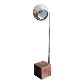 Lightolier Lytegem Chrome Lamp For Sale