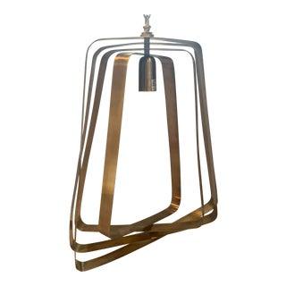 Arteriors Adele Brass Pendant Light For Sale