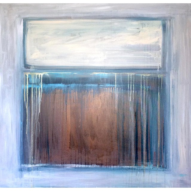 'TRAiL OF TEARS' Original Abstract Painting by Linnea Heide For Sale