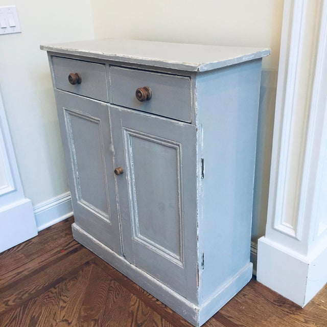 Modern 1930s Vintage Rustic Cupboard For Sale - Image 3 of 5