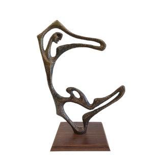 Frederick Weinberg Vintage Bronze Sculpture