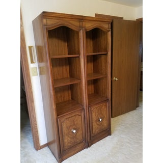 Drexel Wall System Bookcases - a Pair For Sale