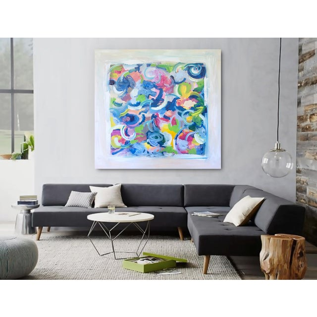 'LiFE GOES ON' original abstract painting - Image 4 of 7