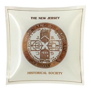 New Jersey Historical Society Tray For Sale