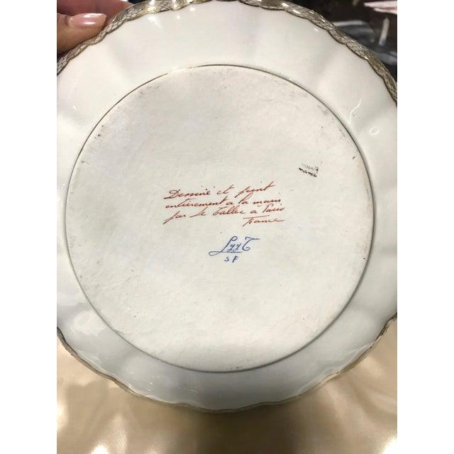 Le Tallec of Paris Gilded Porcelain Serving Set in Presentation Box - Image 9 of 10