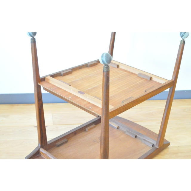 Mid 20th Century Mid Century Modern Teak Bar Cart/Drinks Trolley For Sale - Image 5 of 8