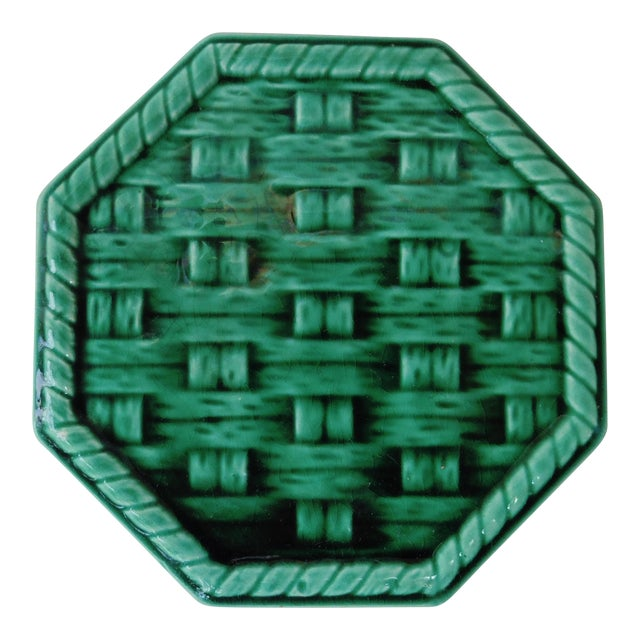 Green Wine Coaster Trivet - Image 1 of 3