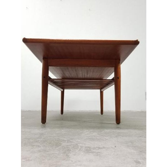 1960s 1960s Mid-Century Danish Coffee Table by Grete Jalk For Sale - Image 5 of 11