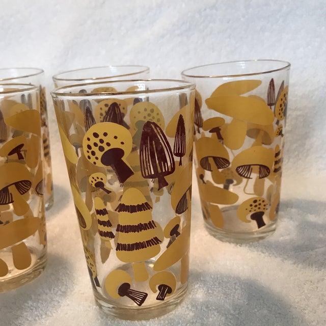 Mid-Century Modern Mushroom Glasses - Set of 8 - Image 4 of 10