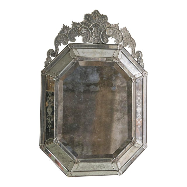 19th Century Venetian Mirror For Sale