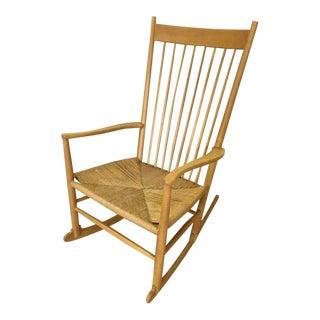 Danish Modern Rocking Chair by Hans Wegner For Sale