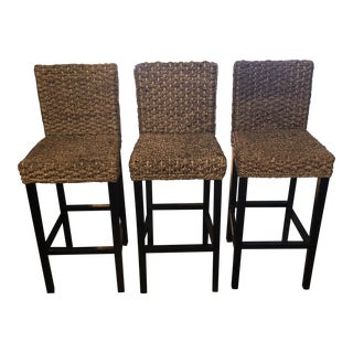 Modern Bar Stools From Z Gallerie - Set of 3