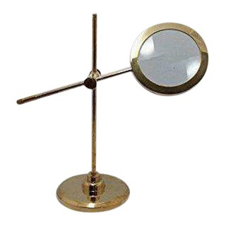 Brass Tabletop Magnifying Glass