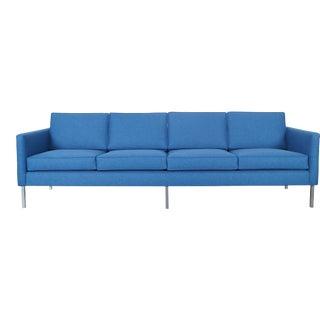 Mid Century Modern Chrome Sofa For Sale