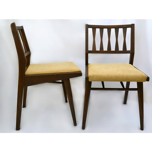 Holman Danish Modern Dining Room Chairs - Pair - Image 4 of 8