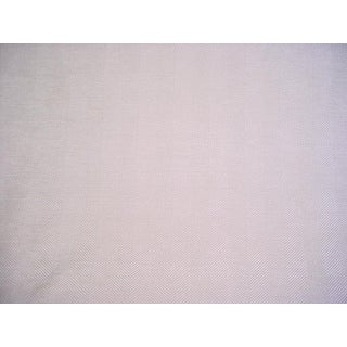 Modern Romo 7700 Kendal Rice Paper Herringbone Chenille Upholstery Fabric- 6-1/2 Yards For Sale