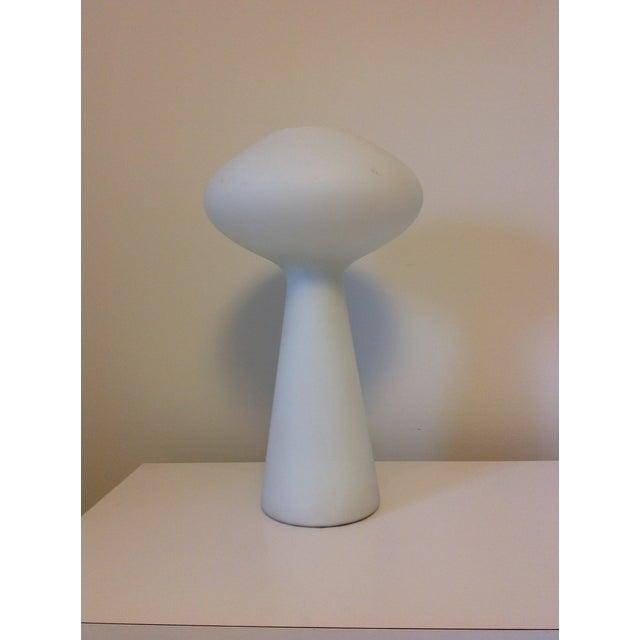 Glass Lisa Johansson-Pape for Iittala Mushroom Lamp For Sale - Image 7 of 7