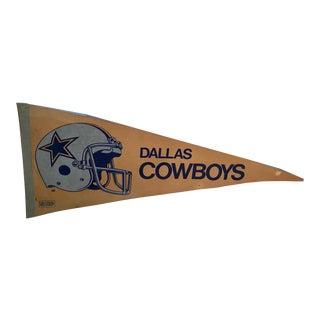 20th Century Americana Dallas Cowboys Pennant For Sale