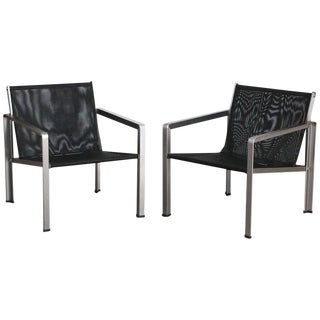 Giuseppe Raimondi Design Modern Aluminum Cube Chairs For Sale