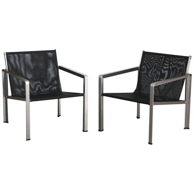 Giuseppe Raimondi Design Modern Aluminum Cube Chairs For Sale