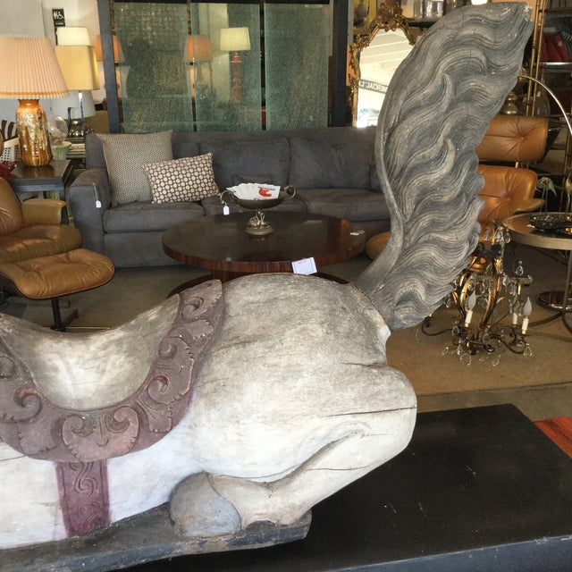 Antique Carousel Horse - Image 5 of 8