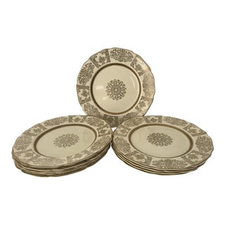 Johnson Bros JB13 Victorian Dinner Plates- Set of 10 For Sale