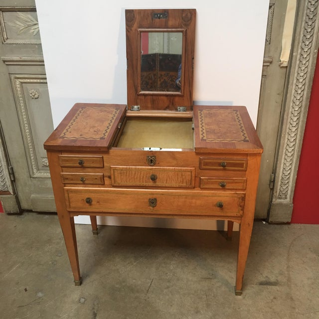 18th Century Louis XVI Dressing Table, Coiffeuse For Sale - Image 11 of 13