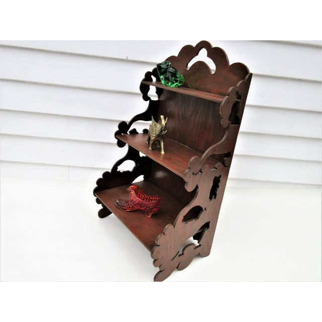 Wooden Tiered Display Shelf - Image 3 of 9
