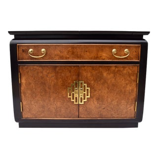 1970s Century Furniture Chinoiserie Buffet Sideboard Server For Sale