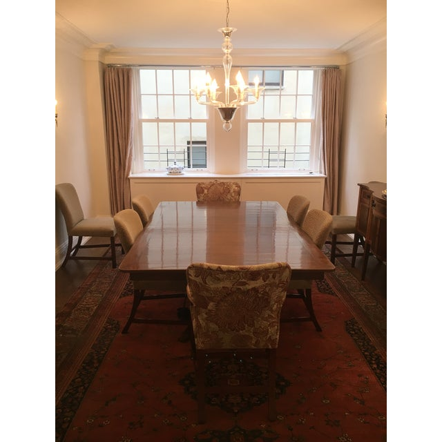 Rose Tarlow Custom Pickwick Dining Table For Sale In New York - Image 6 of 9