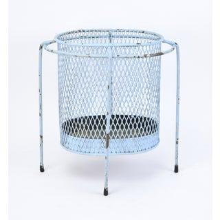 Circa 1953 Maurice Duchin Iron Mesh Mid-Century Modernist Waste Basket Preview