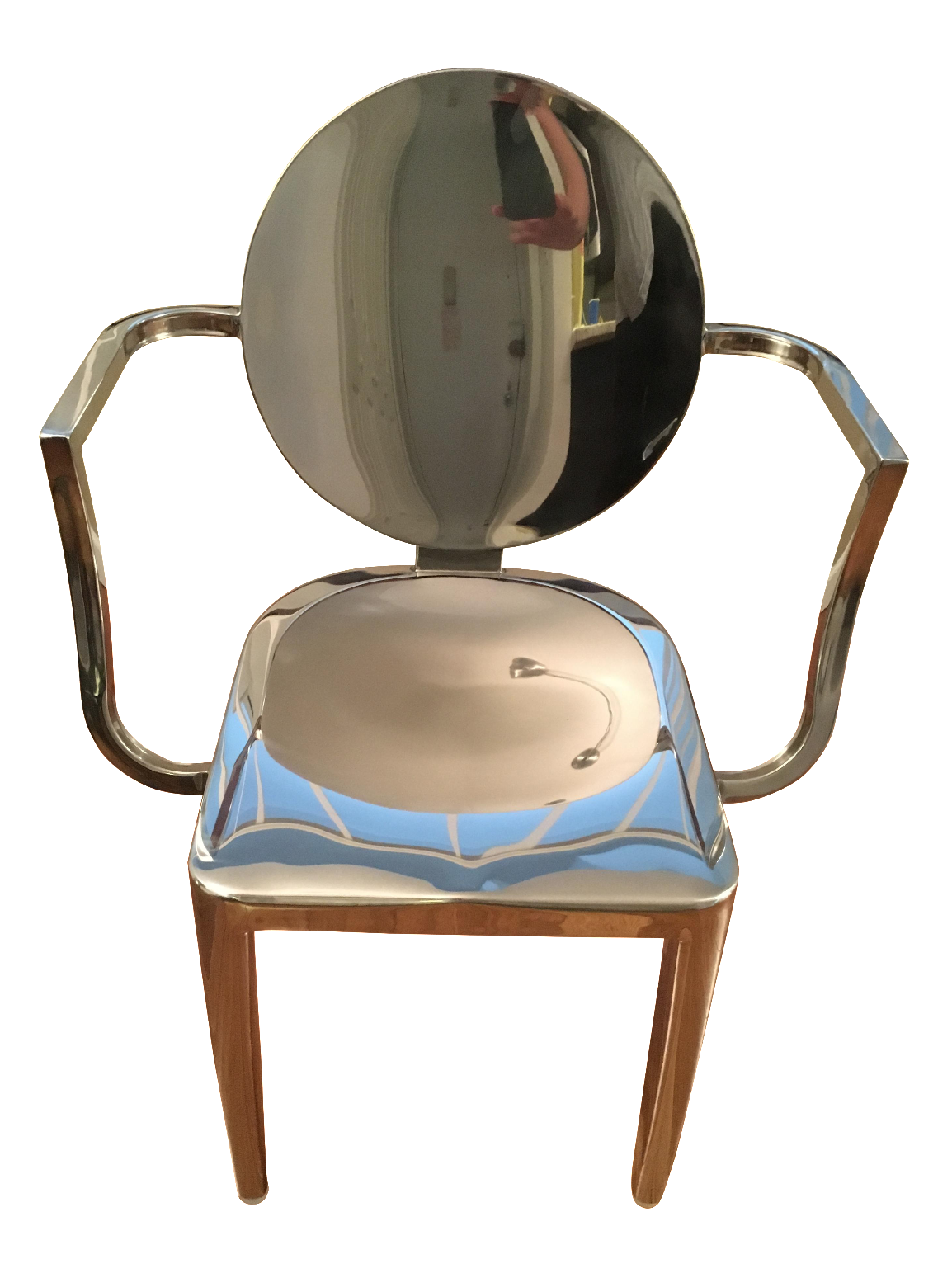 Lovely Modani Ivy Metallic Chair
