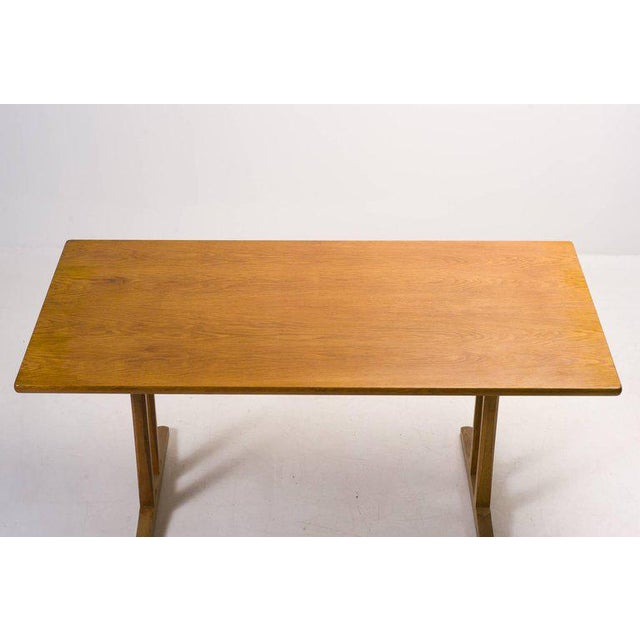 Wood Shaker Table, C18 by Børge Mogensen For Sale - Image 7 of 10