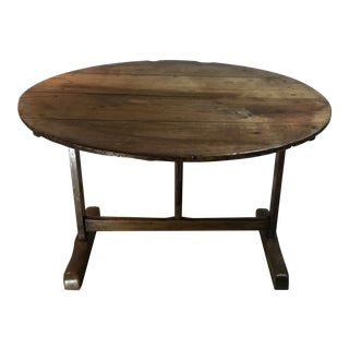 Classic French Wine Tilt-Top Table