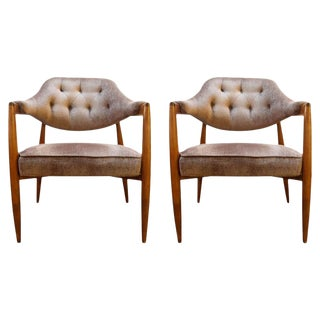 Pair of Chairs by Maurice Bailey for Monteverdi Young For Sale